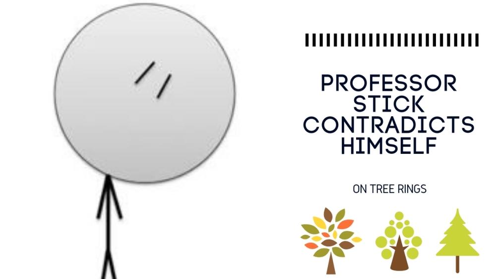 professor stick contradicts
